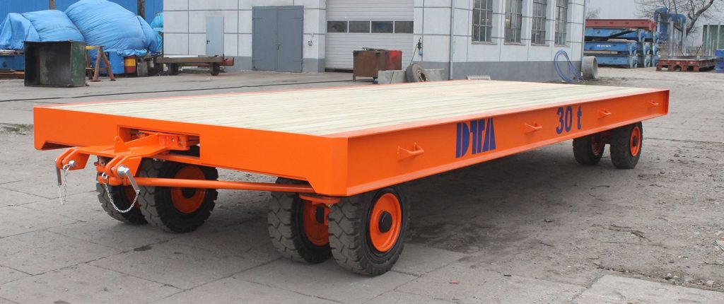 Large heavy duty trailer