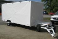 Wheelie bin collection trailer