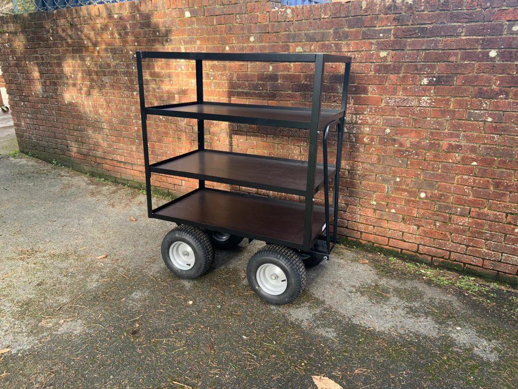 Film grip cart